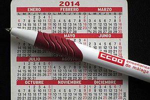 calendario uma peque