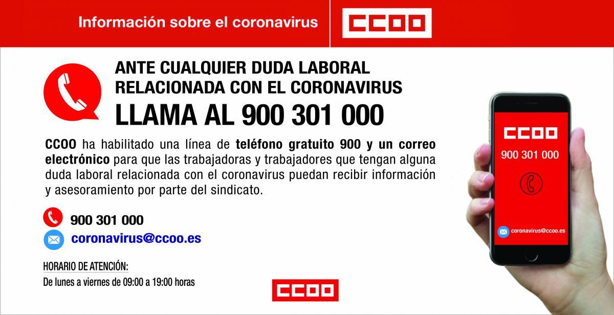telefono_gratuito_coronavirus_ccoo