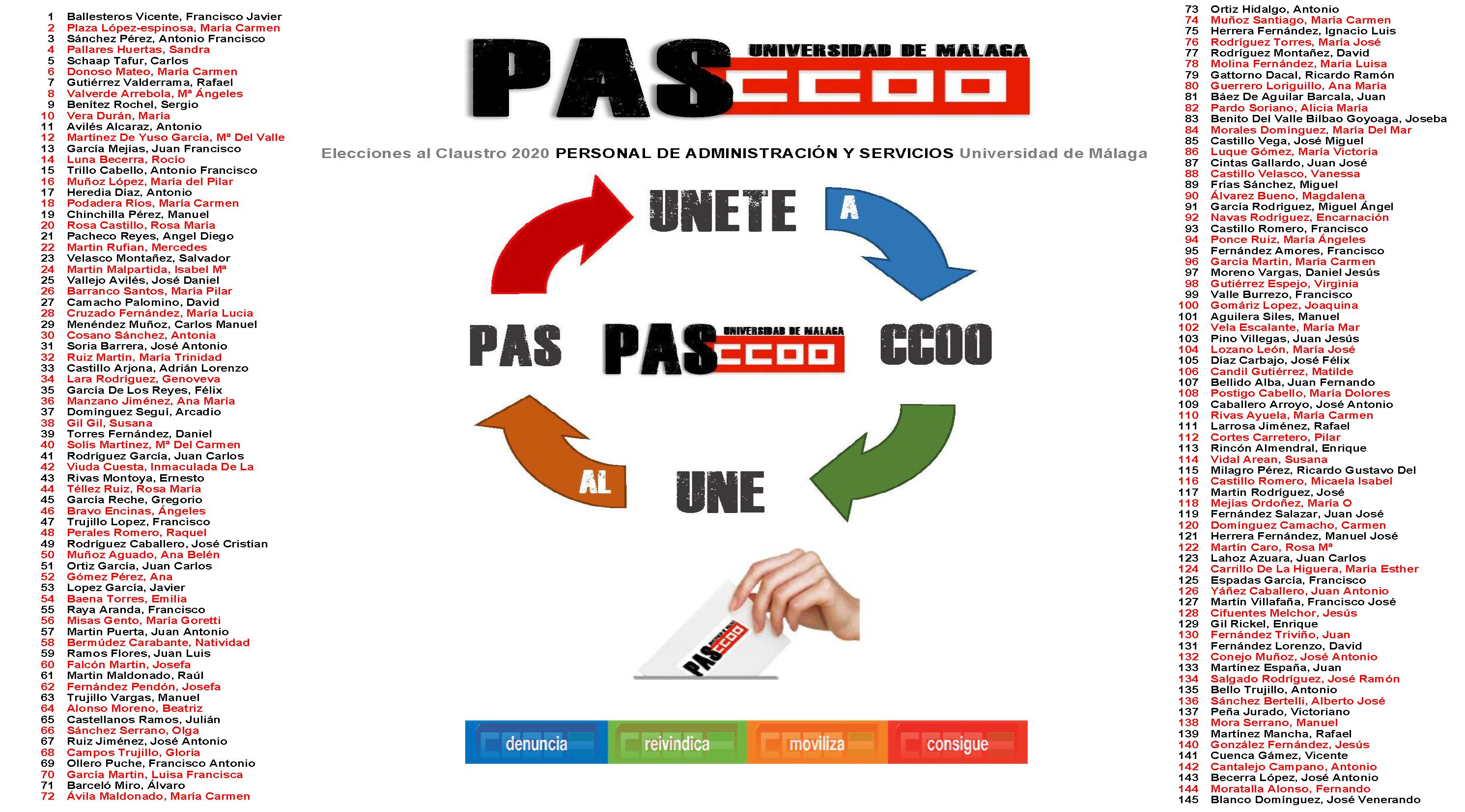 Candidatura_PAS_CCOO_Claustro_2020