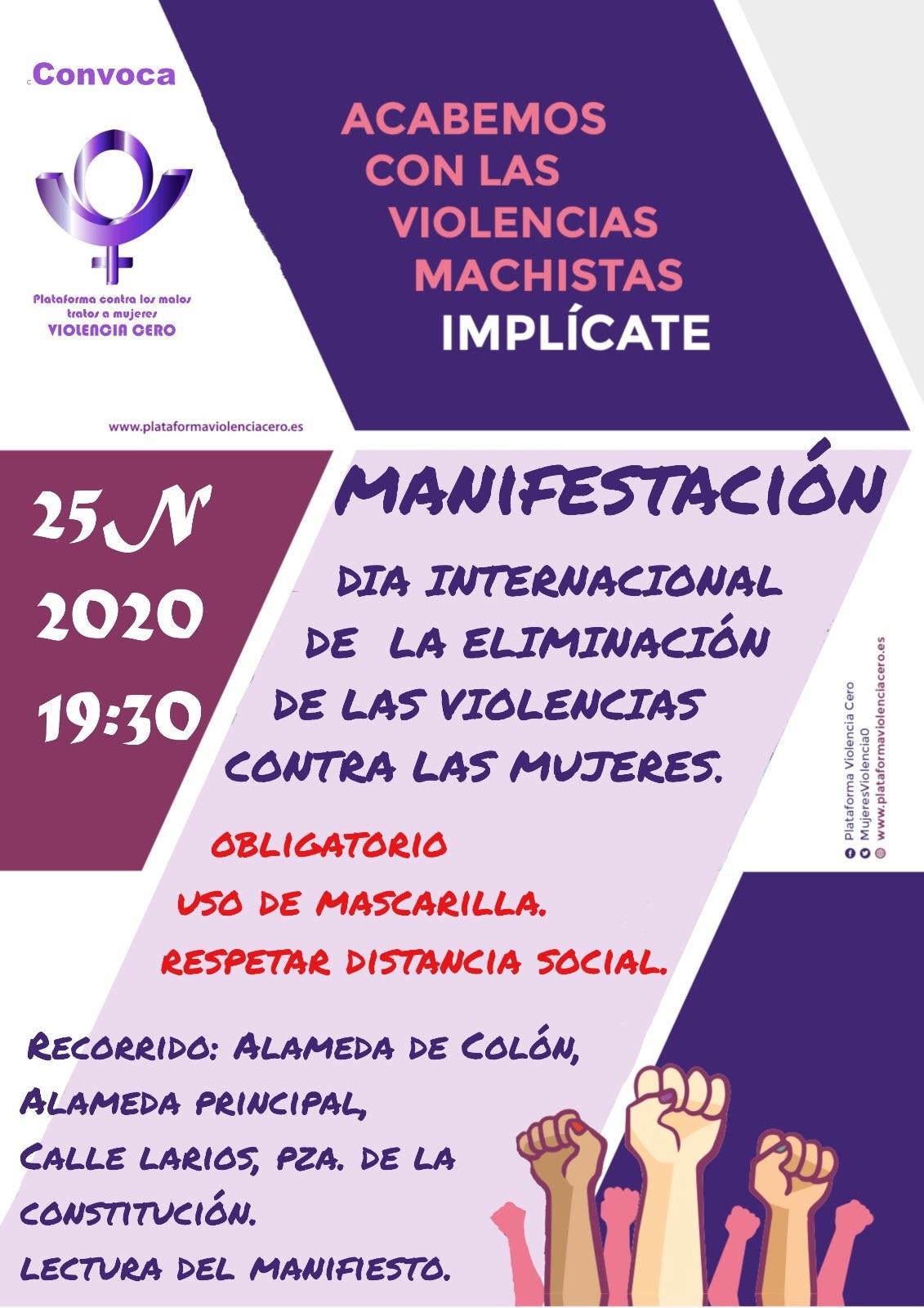 manifestacion25N2020
